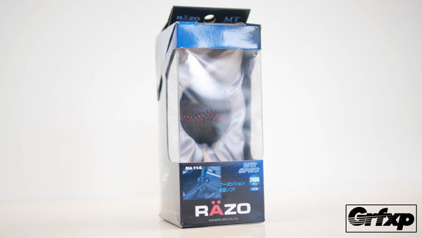 RAZO WR SPEC Weighted Leather Shift Knob