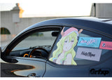 Dragon Maid Anime Girl Passenger Window Graphic