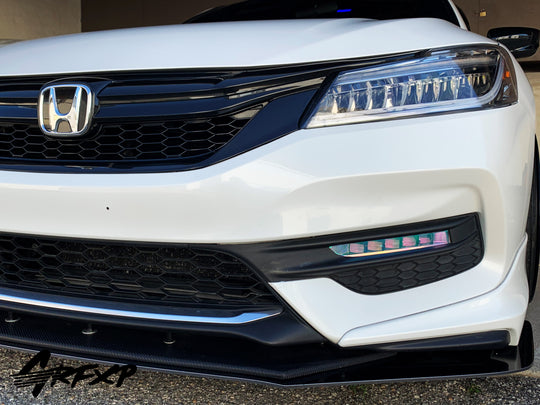 Fog Light Overlays for 9.5thGen Honda Accord Sedan (2016-2017)