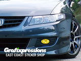 Fog Light Overlays for Acura TSX (2004-2008)