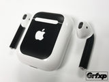 Apple AirPod Skins *Version 2* (Stem & Case Overlay Kit)