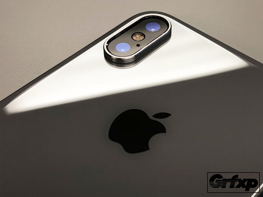 Aluminum Camera Ring for iPhone X - Protect your camera!  iPhoneXbumpers.com | Grfxp