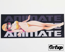 Animate Printed Sticker