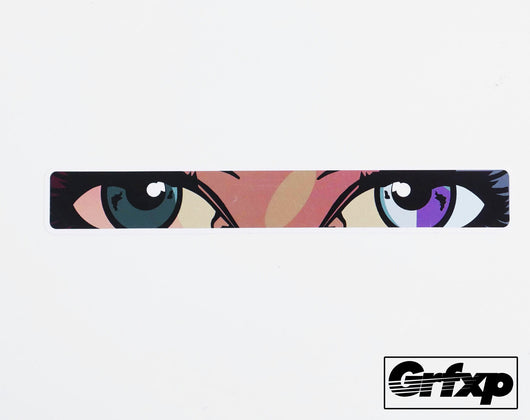 Anime Eyes MW3 Title Printed Sticker