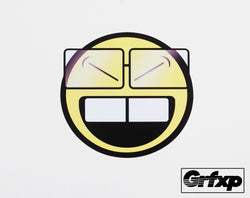 Oh, Herrow Smiley Printed Sticker