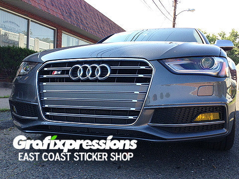 Fog Light Overlays for Audi B8.5/S-Line (2013 – 2016)