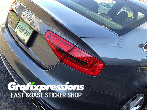 Taillight Reverse/Signal Overlays for Audi B8.5/S-Line (2013 – 2016)