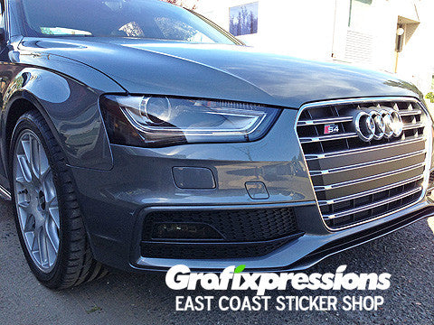Headlight Reflector Overlays for Audi B8.5 S4/A4 S-Line (2013 – 2016)