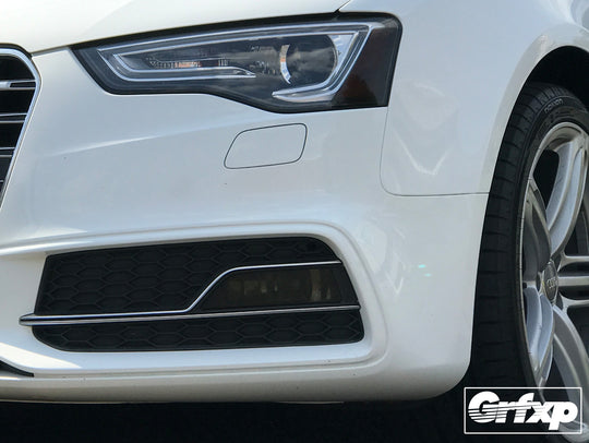 Fog Light Overlays for Audi S5 B8.5 / A5 S-Line (2013 – 2016)