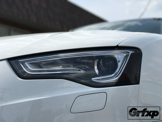 Headlight Reflector Overlays for Audi B8.5 S5/A4 S-Line (2013 – 2016)