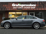 Door Blade Overlays for B8.5 Audi S4/S-Line (2013 - 2016)
