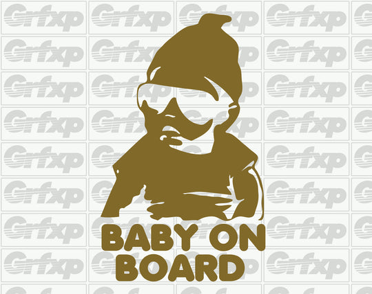 Baby on Board (Carlos) Sticker
