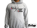 Built in America, Inspired From Japan Hoodie