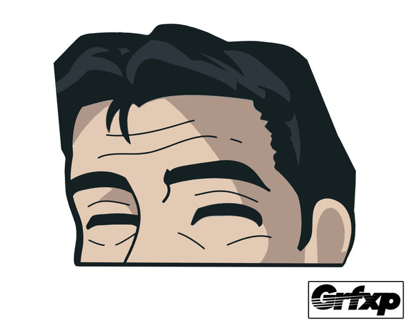 Bunta Peeking Printed Sticker
