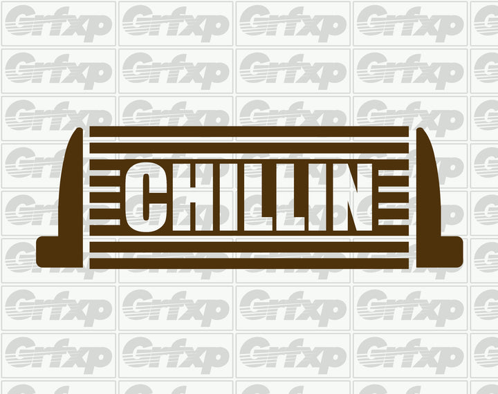 Chillin (Intercooler) Sticker