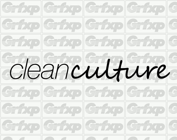 Clean Culture Sticker