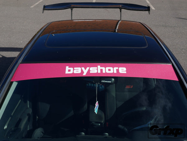 Create Your Own Vinyl Windshield Banner (SunStrip)