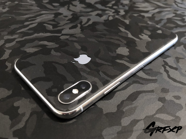 cheap for discount 5632a dd834 iPhone X Shadow Black Camo Colorlay Skins – Grafixpressions