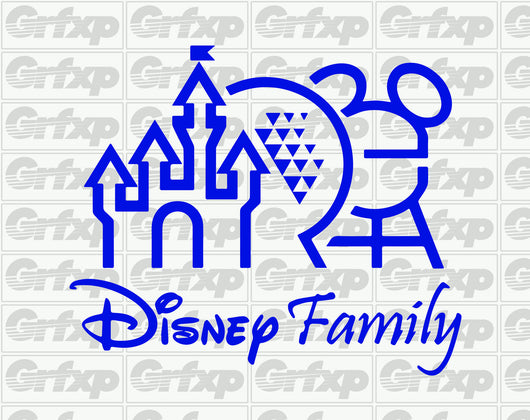 Disney Family Sticker
