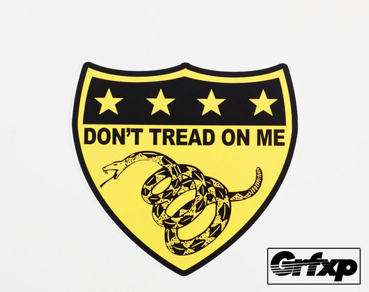 Don't Tread on Me Printed Sticker
