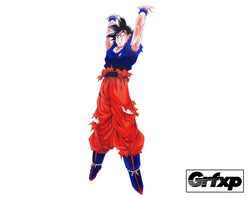 Goku Spirit Bomb Printed Sticker