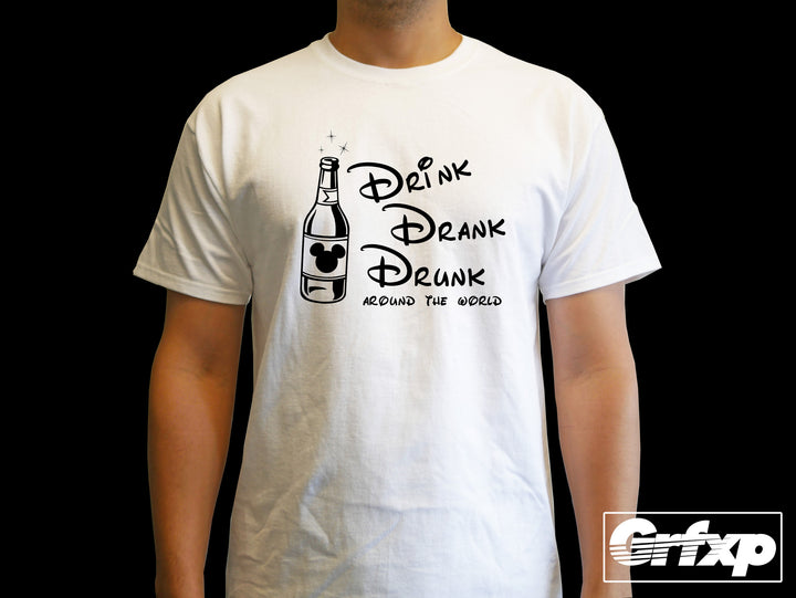 Drink, Drank, Drunk T-Shirt