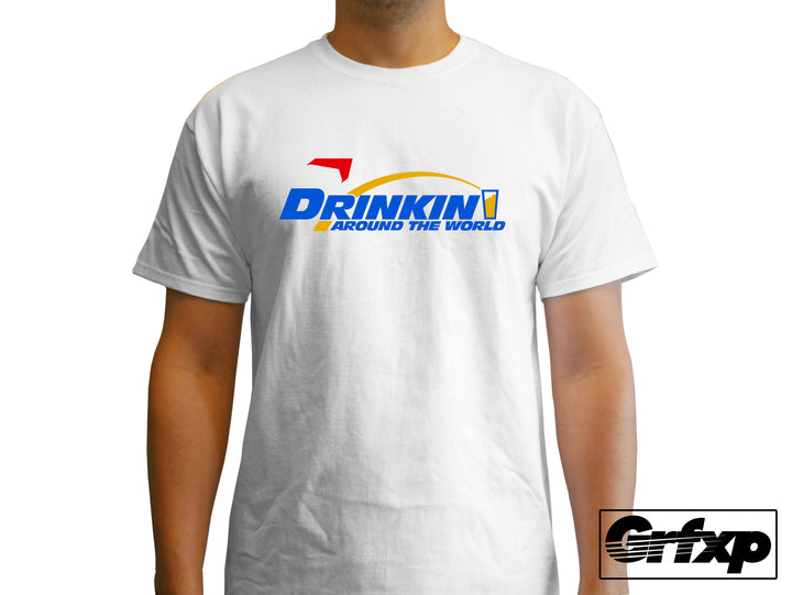 Drinkin' Around the World (Soarin' Style) T-Shirt