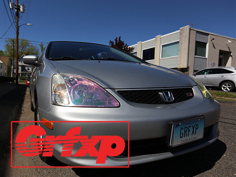 Headlight Overlays for EP3 Honda Civic Hatch (2001-2005)