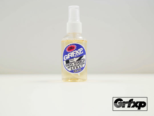 GRFXP E-Z Vinyl Application Solution w/Spray Bottle