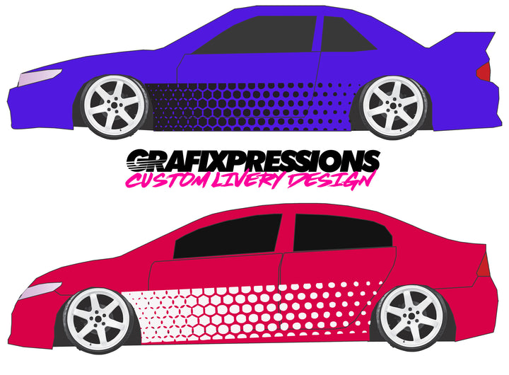 Hex Fade - Custom Vehicle Livery Graphics