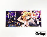 "*LIMITED EDITION* Faith Marone Anime Style Printed ""Slap"" Sticker"