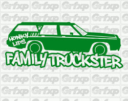 Family Truckster Sticker