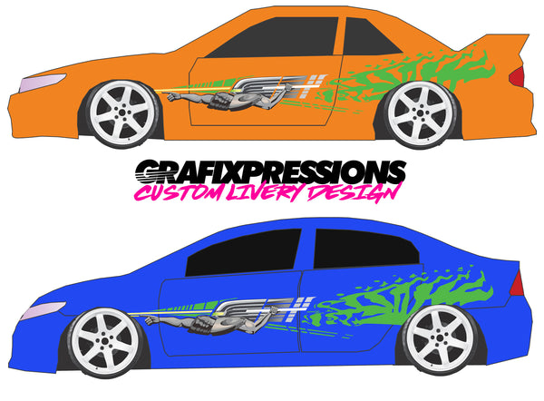 Fast & Furious Knight - Custom Vehicle Livery Graphics