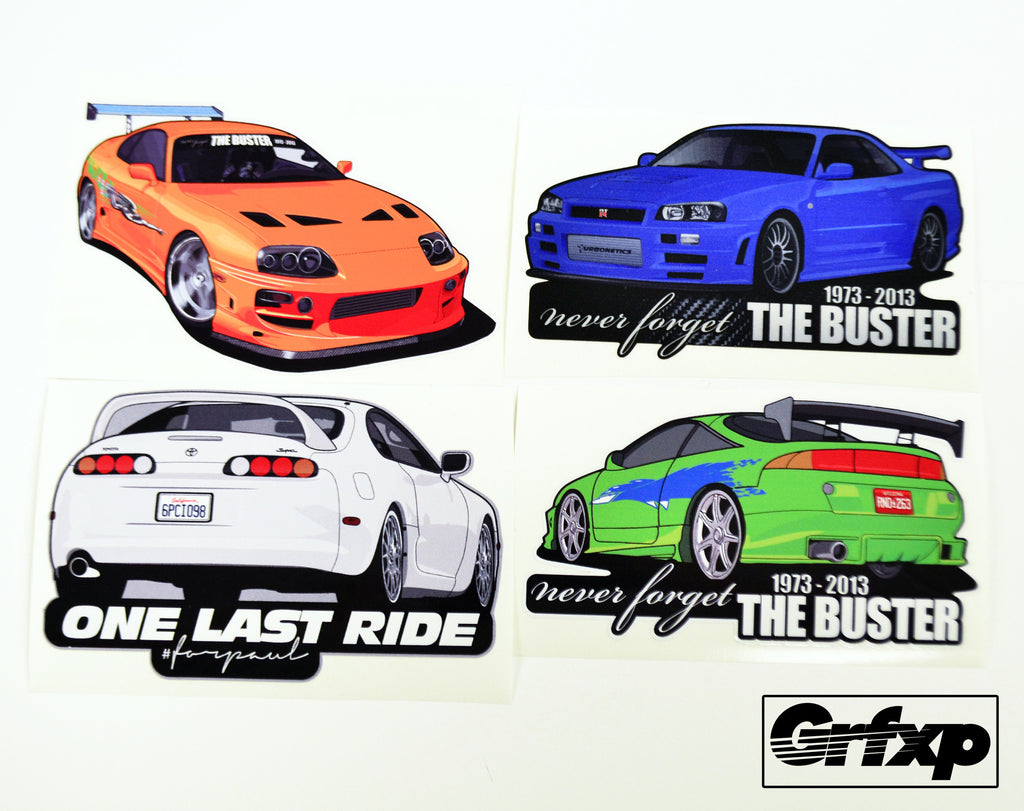 Never forget the buster sticker collection grafixpressions