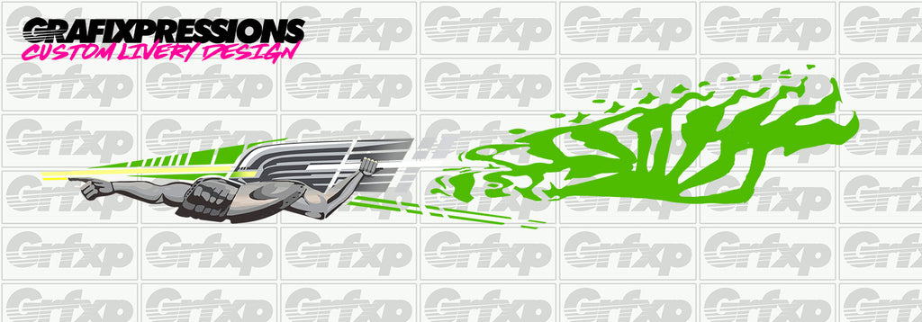 Fast Amp Furious Knight Custom Vehicle Livery Graphics