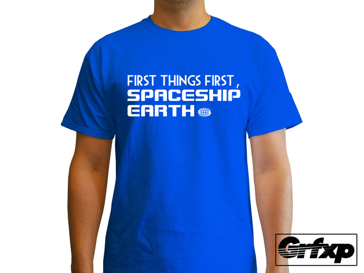 First things first, Spaceship Earth! T-Shirt