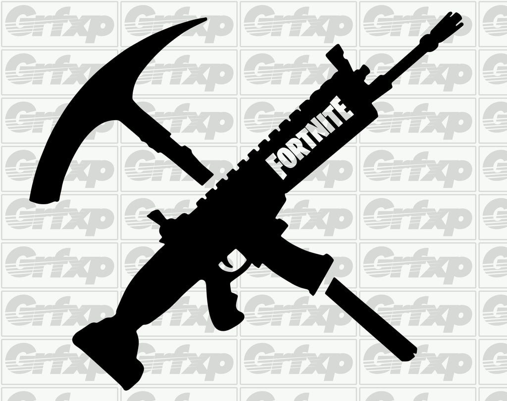 tools of the trade fortnite sticker grafixpressions Skin Cell Gun for Burns