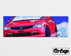 Grafixpressions Mugen RR Printed Sticker