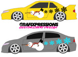 Frosty the Snowman - Custom Vehicle Livery Graphics