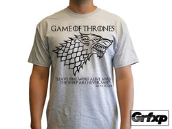 Game of thrones Arya Stark Sigil W/ Quote T-Shirt
