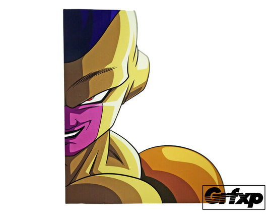 Golden Frieza Printed Sticker