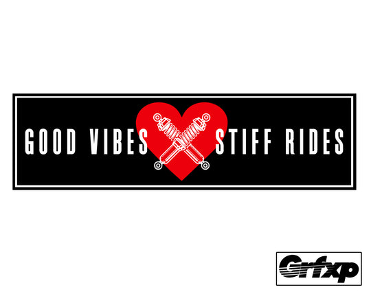 Good Vibes X Stuff Rides Printed Slap Sticker