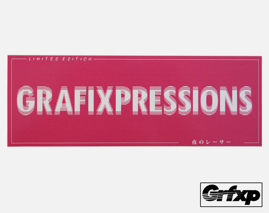 Grafixpressions Drunken Dizzy Printed Sticker