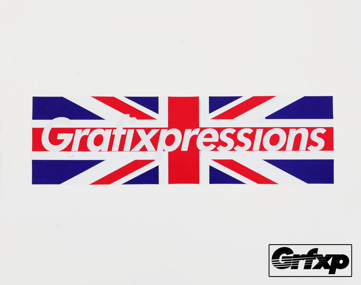 Grafixpressions UK Flag Printed Sticker