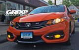 Fog Light Overlays for 9thGen Honda Civic Coupe (2014 – 2015)