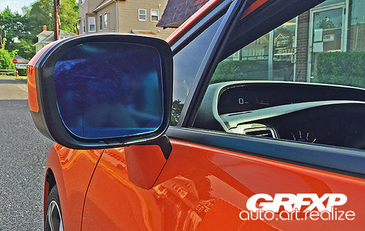 Side View Mirror Overlays for 9thGen Honda Civic Coupe (2014 – 2015)