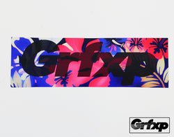 GRFXP Flora Printed Sticker
