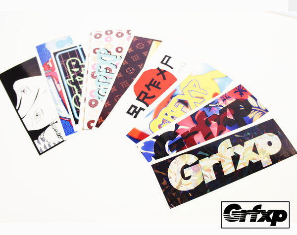 GRFXP Logo Slap Sticker (select a design)