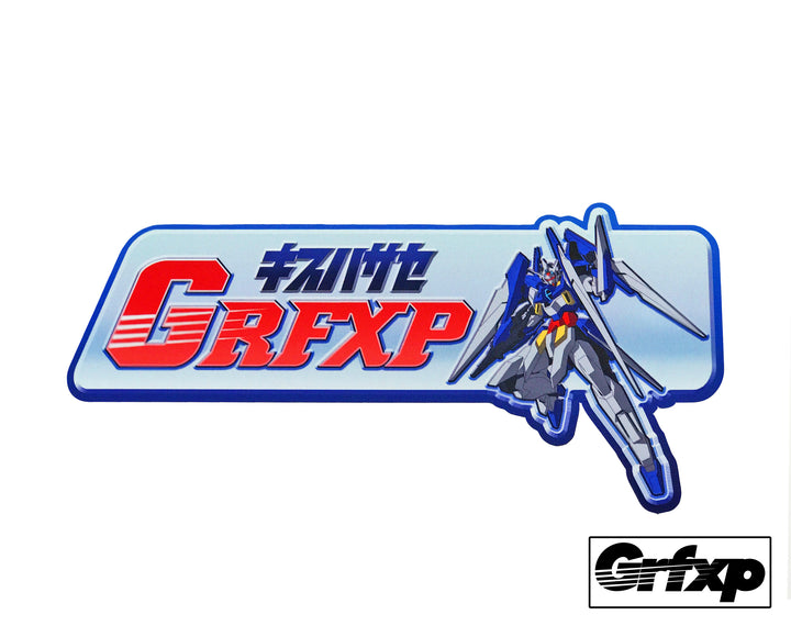 *LIMITED EDITION* GRFXP x Gundam Slap Sticker
