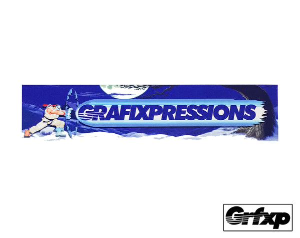 *LIMITED EDITION* Grafixpressions x RYU Slap Sticker